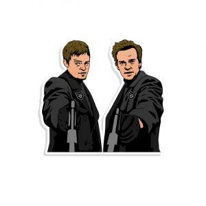 boondock saints vinyl decal