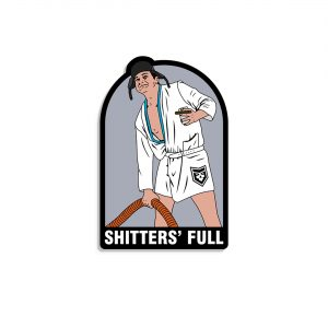 Christmas Vacation Cousin Eddie Shitters Full Vinyl Decal