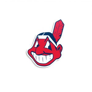 Chief Wahoo Forever Vinyl Decal